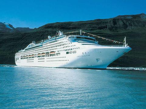 Dawn Princess Schiff