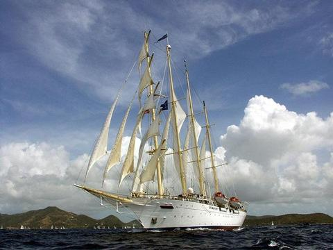 Star Clipper Schiff