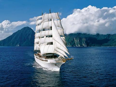 Sea Cloud II Schiff