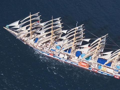 Royal Clipper Schiff