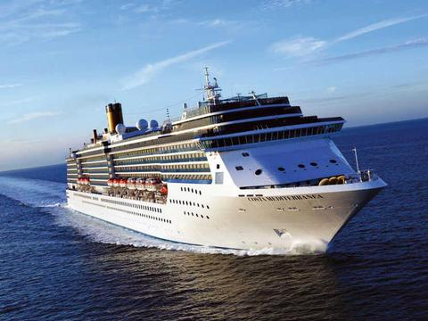 Costa Mediterranea Schiff