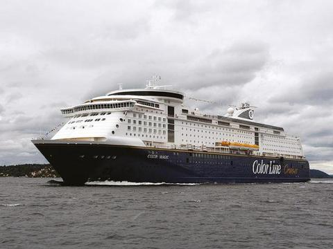 Color Line Cruises Schiff