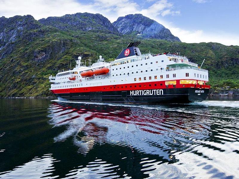 Hurtigruten kreuzfahrten cruises schiffsreisen g 252 nstig buchen