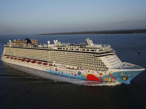 Norwegian Breakaway Schiff