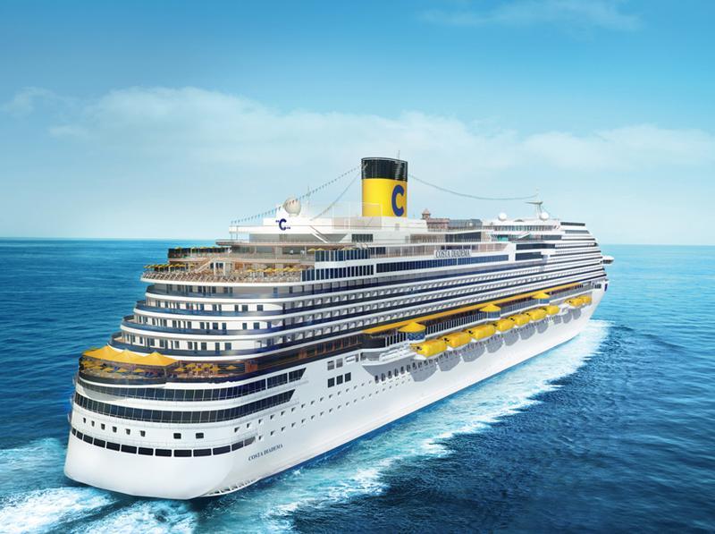 Costa diadema kreuzfahrten schiffsbewertungen und deckplan for Deckplan costa diadema
