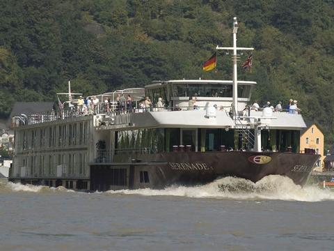 Romantischer Jahreswechsel am Rhein